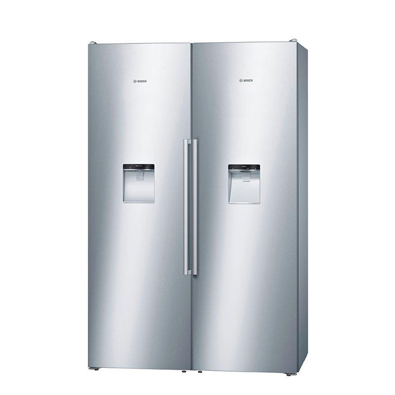 یخچال فریزر دوقلو بوش مدل BOSCH KSW36PI304 – GSD36PI204