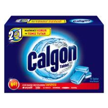قرص جرم گیر ماشین لباسشویی 15 تایی کلگون مدل CALGON 2 in 1