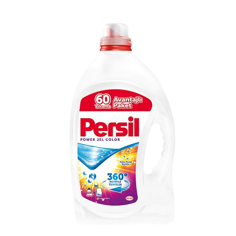 ژل لباسشویی رنگین شوی 4200 میلی لیتری پرسیل مدل PERSIL Power Jel 360 Color