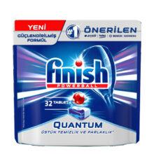قرص ماشین ظرفشویی 32تایی فینیش مدل FINISH Quantum Powerball