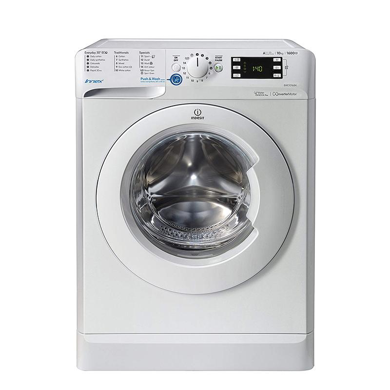 ماشین لباسشویی ایندزیت مدل INDESIT BWE 101684X W UK